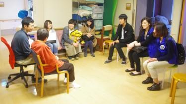 【障害者支援施設利用者の方と楽しくお話ししました♪】