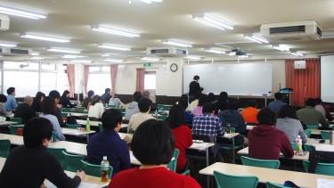 入学前教育の講義の様子
