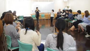 入学前学習会の様子