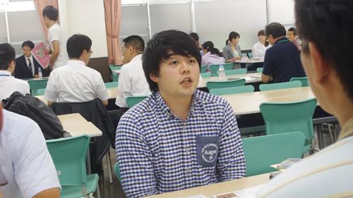 介護福祉学科卒業生の千葉さんは なんと仙台から参加してくださいました!