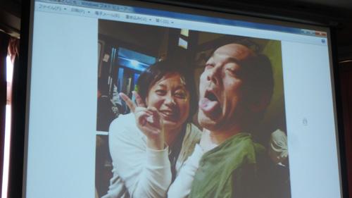 松兼さんと西村先生、素敵な笑顔♪