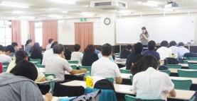 【授業紹介】卒業生より介護過程の体験談が語られました 介護福祉学科