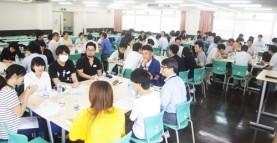 【授業紹介】学生と実習施設指導者合同で懇談会が開催されました 介護福祉学科