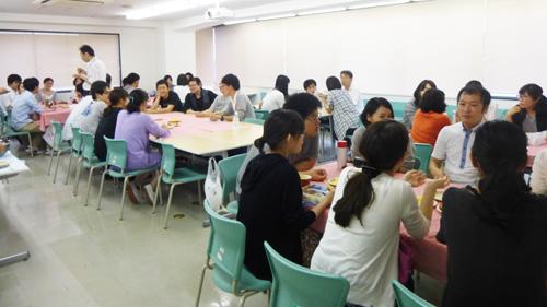多くの学生が参加しました!