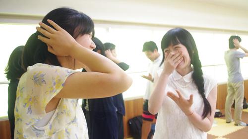 受講生みんな、とても楽しそうな笑顔でした♪