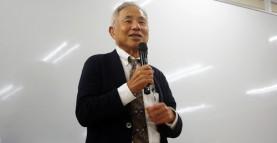 【特別講演】石飛幸三先生(特別養護老人ホーム『芦花ホーム』常勤医)による『平穏死』特別授業を行いました。