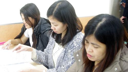 留学生も授業に参加しています!