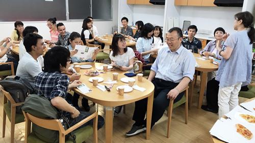 多くの留学生が集まりました!