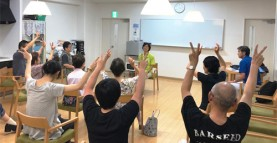 【MeMoプロジェクト×カイゴのミライ】体操サロンを開催しました!