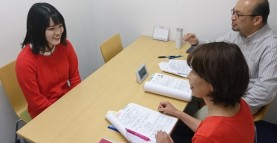 実習先個人面談の様子をレポート 社会福祉士養成学科
