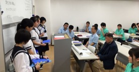 静岡県小山町立小山中学校の生徒さんが来校しました 介護福祉学科